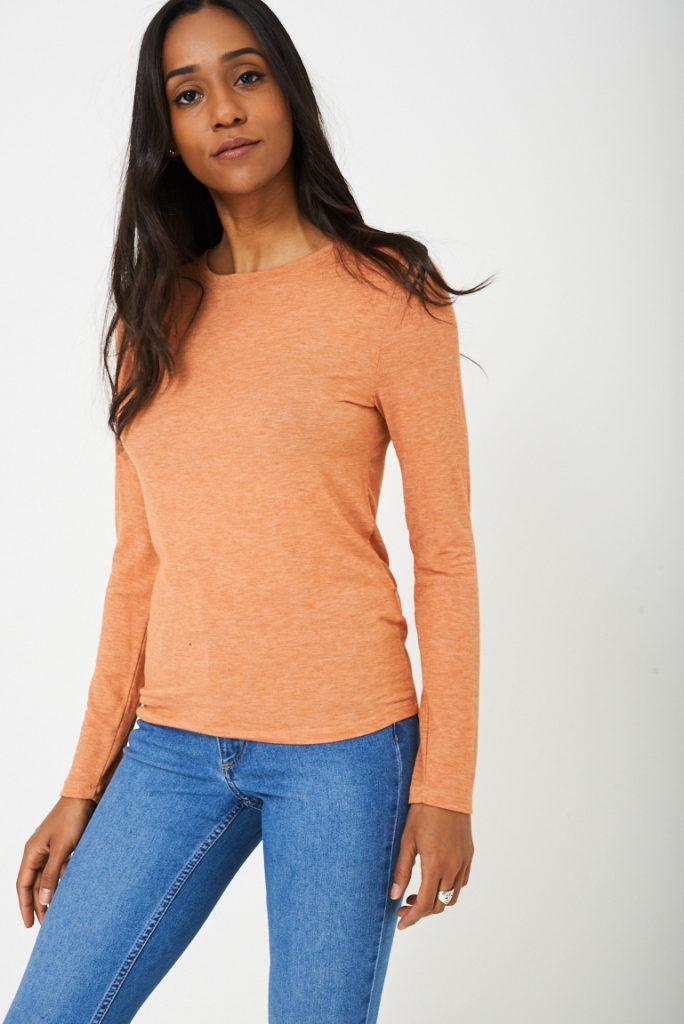 BIK BOK Basic Orange Top