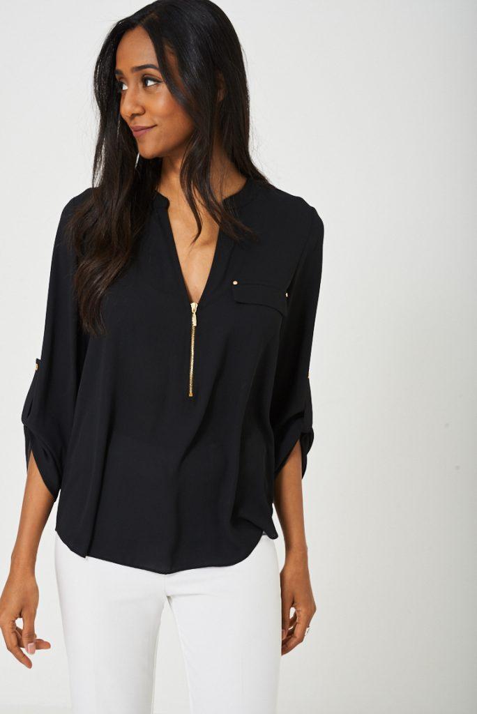 Lightweight Shirt in Black